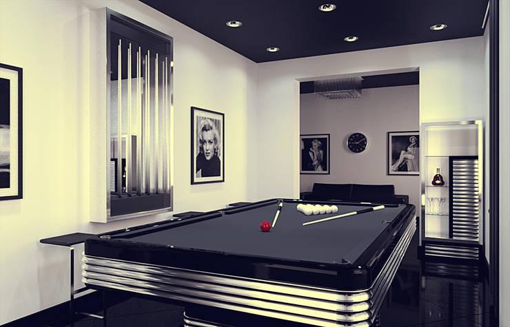 Billiard room: Тренажерные комнаты в . Автор – Дмитрий Максимов