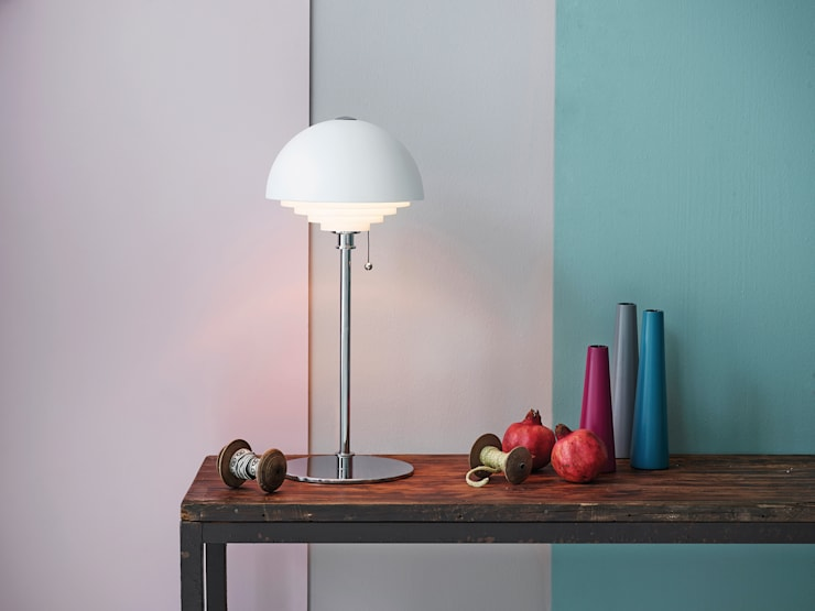 Table Lamps: minimalistic Study/office by Herstal A/S