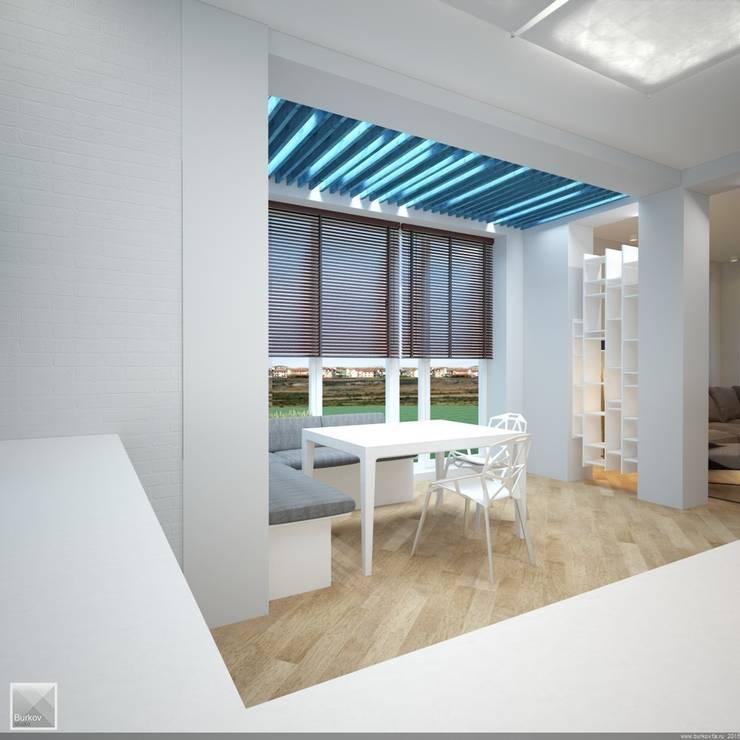Интерьер кухни: Кухни в . Автор – Burkov Studio