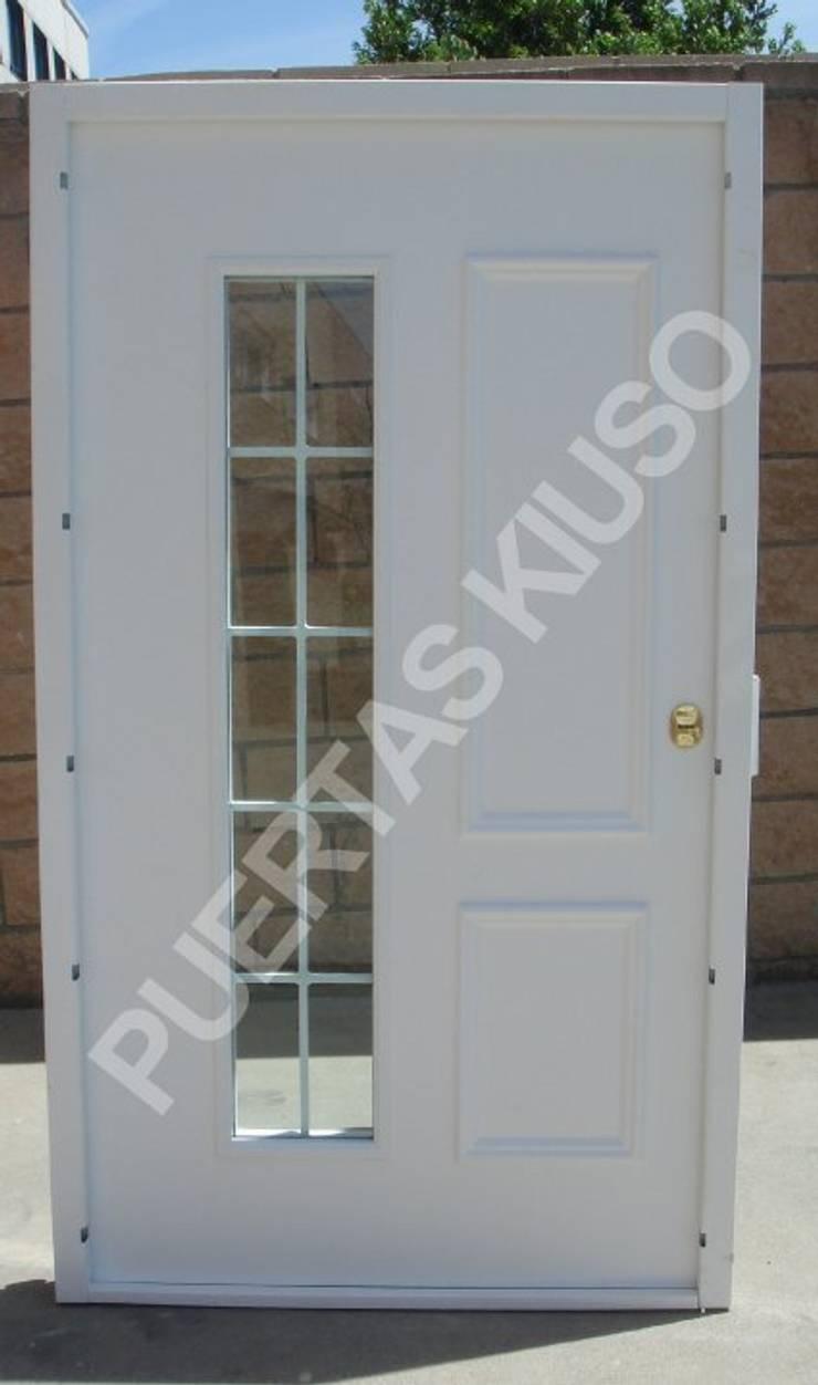 CRISTAL HOJA 3: Puertas y ventanas de estilo  de PUERTAS KIUSO