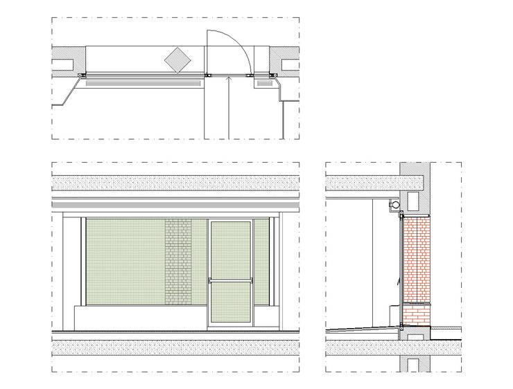 PROYECTO ACTUALIZACION EXTERIOR E INTERIOR. EDIFICIO BANKINTER. MADRID. 2011-2013 En colaboración con RAFAEL MONEO:  de estilo  de Bescos-Nicoletti Arquitectos