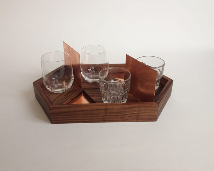 Copper tray :  Esszimmer von OFFCUT BERLIN