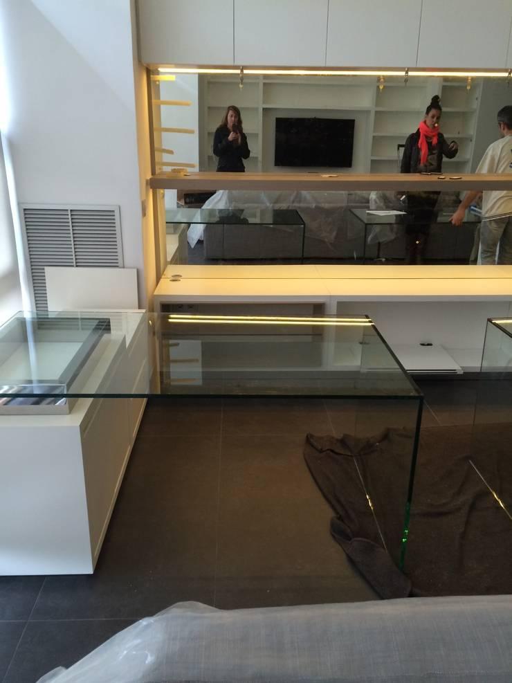 Zona de trabajo: Estudios y despachos de estilo  de key home designers