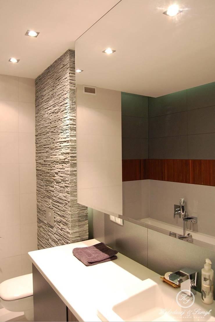 MARKI: styl , w kategorii Łazienka zaprojektowany przez Kołodziej & Szmyt Projektowanie wnętrz