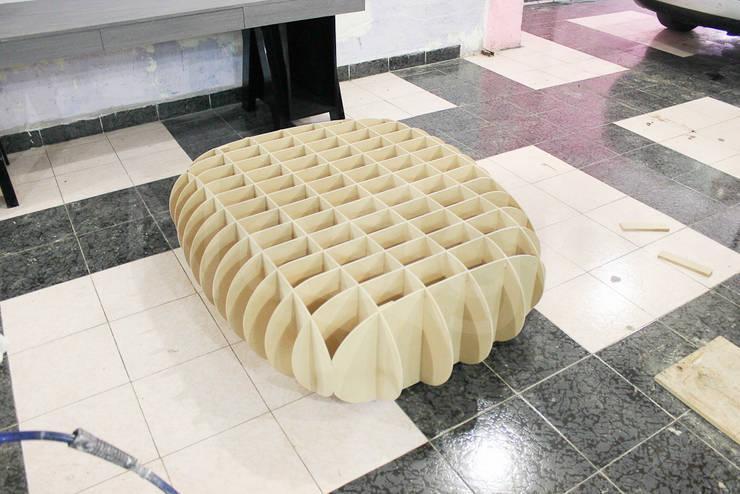 Muebles casa habitacion: Salas de estilo  por Nesign - Diseño y fabricación de muebles.