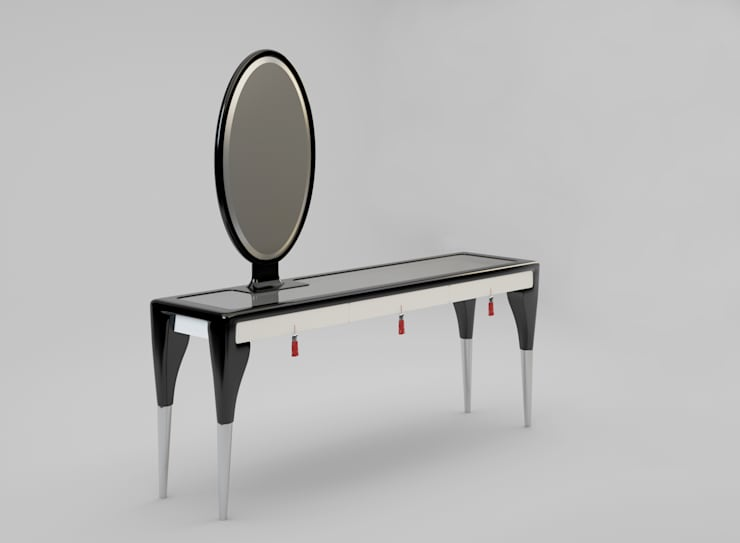 Secret Passion 2.0 beauty table. Designed by Ekaterina Elizarova: Гостиная в . Автор – Elizarova Design Company