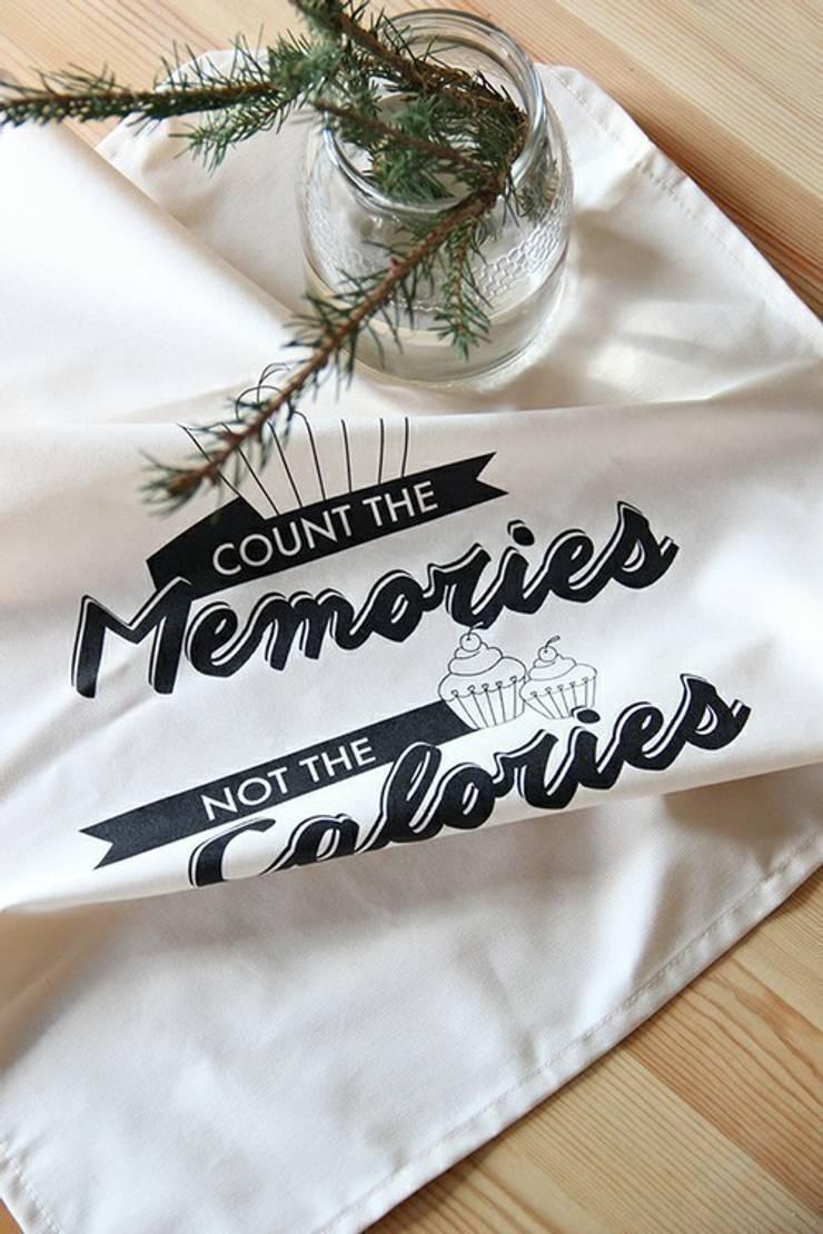 Pano de cozinha Memories: Cozinha  por Maria Tigela
