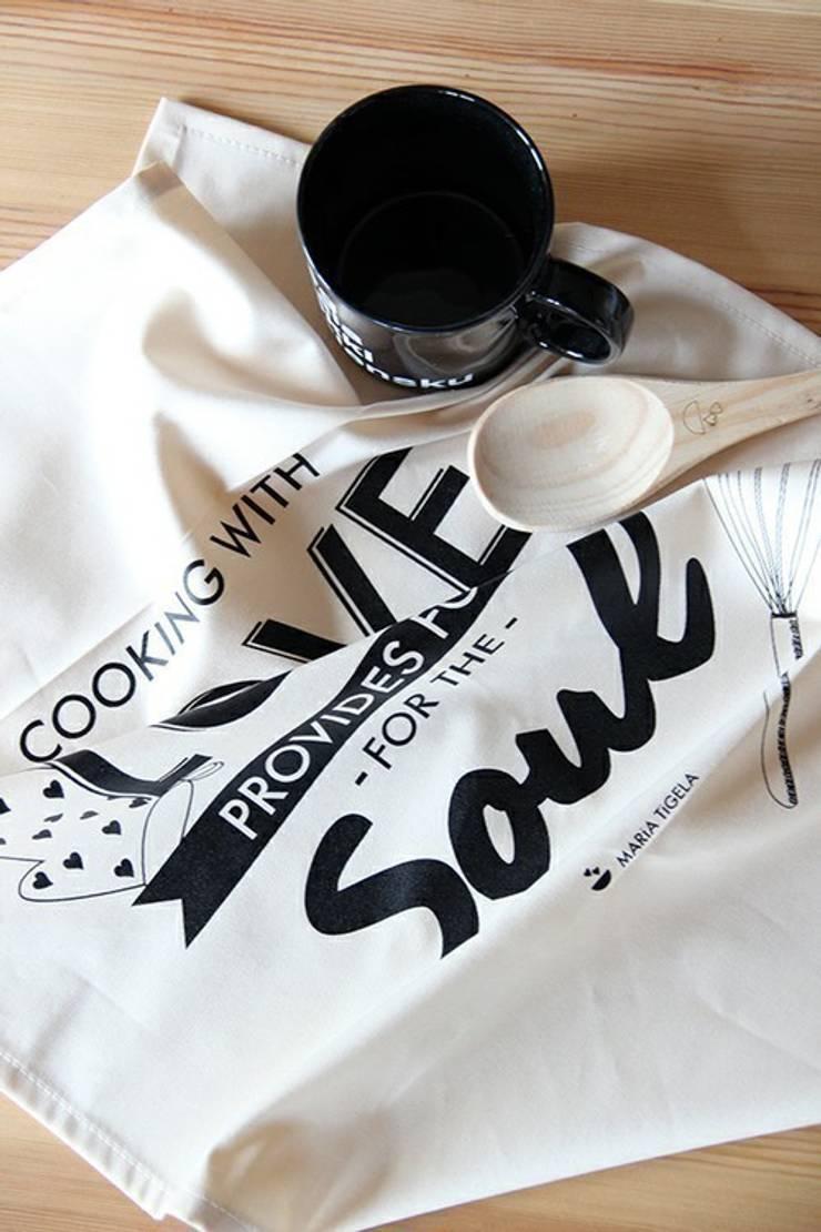 Pano de cozinha Soul: Cozinha  por Maria Tigela