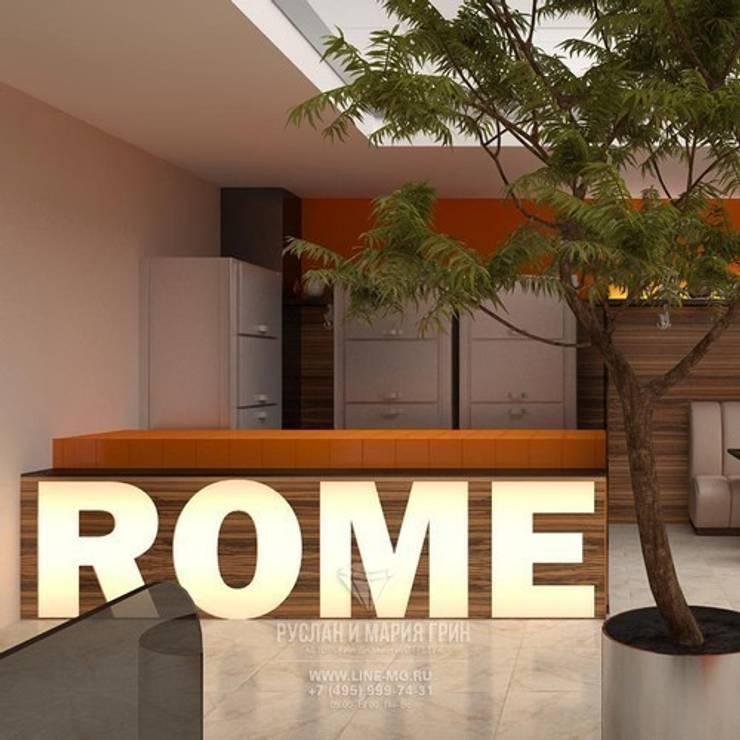 Дизайн столовой: Ресторации в . Автор – Студия дизайна интерьера Руслана и Марии Грин