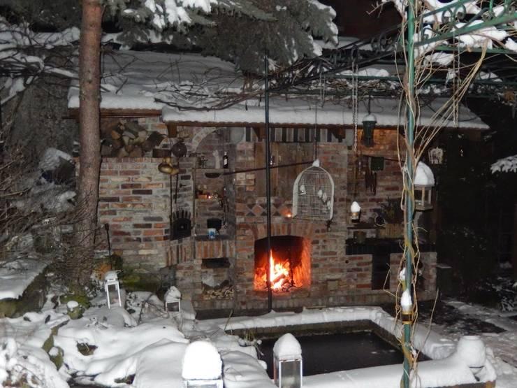Kuchnia w ogrodzie zimowym: styl , w kategorii Taras zaprojektowany przez Kuchnia w Ogrodzie