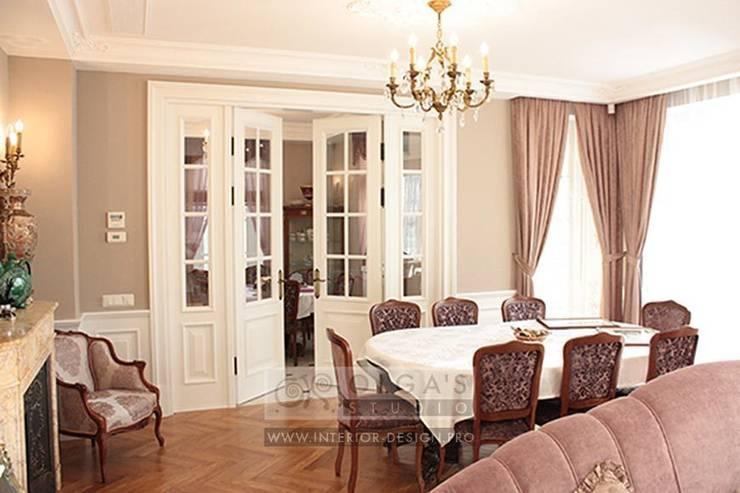 Столовая: Столовые комнаты в . Автор – Olga's Studio