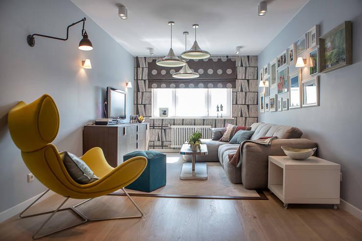 غرفة المعيشة تنفيذ Фотограф Анна Киселева
