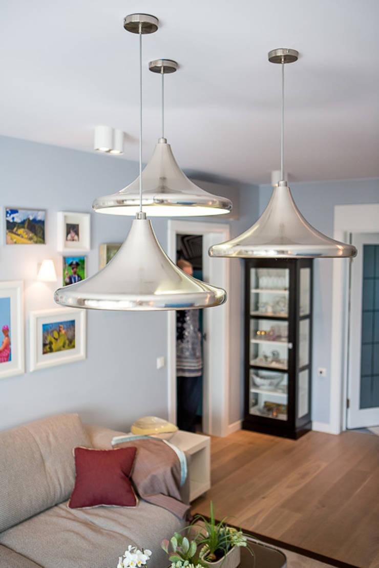 Salas de estar  por Фотограф Анна Киселева, Escandinavo