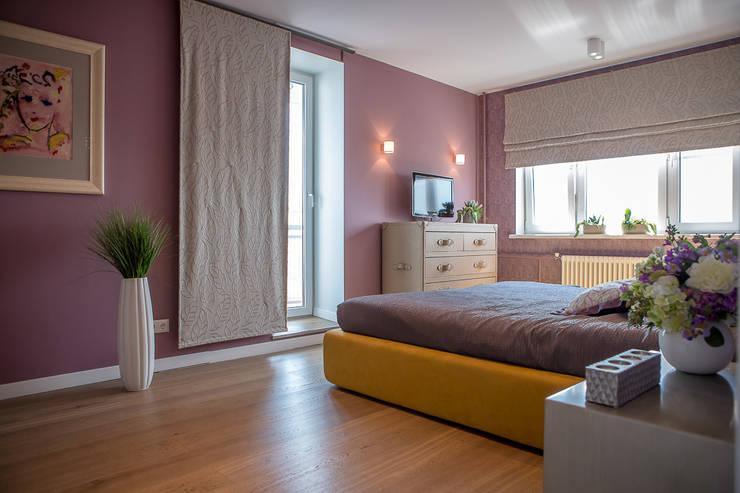 غرفة نوم تنفيذ Фотограф Анна Киселева