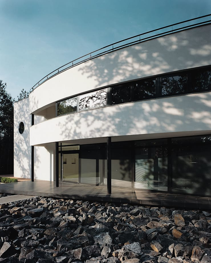 Voorgevel:  Huizen door Lab32 architecten, Modern
