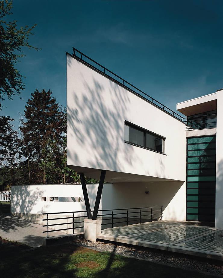 Zijgevel:  Huizen door Lab32 architecten