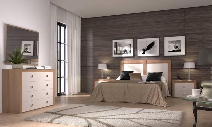 Dormitorios de estilo moderno por GALDIS MUEBLES SL