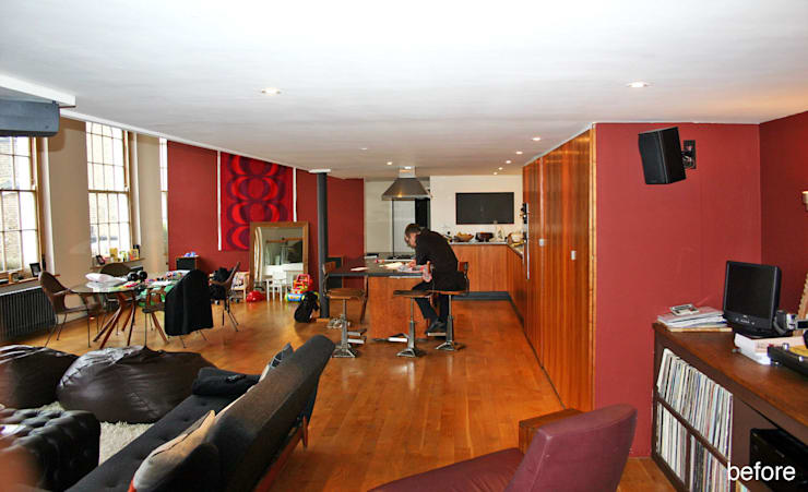 Islington Apartment:   by Jonathan Clark Architects