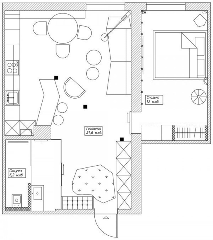 Дизайн проект загородного дома:  в . Автор – Cтудия 'ART Story', Скандинавский