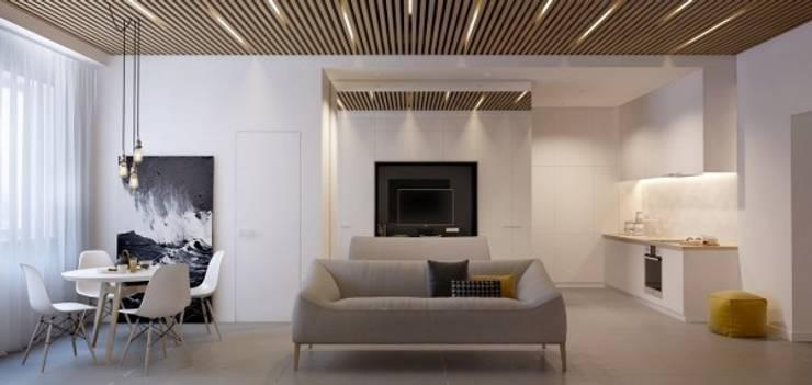 Дизайн проект квартиры от проекта до реализации: Коридор и прихожая в . Автор – Cтудия 'ART Story', Модерн