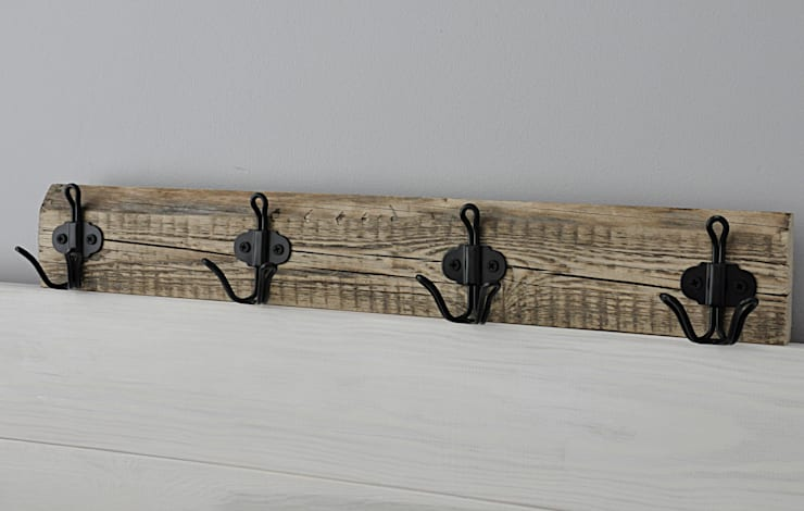 Wieszak: styl , w kategorii Korytarz, hol i schody zaprojektowany przez Artist's Workshop Anna Biardzka-Giza
