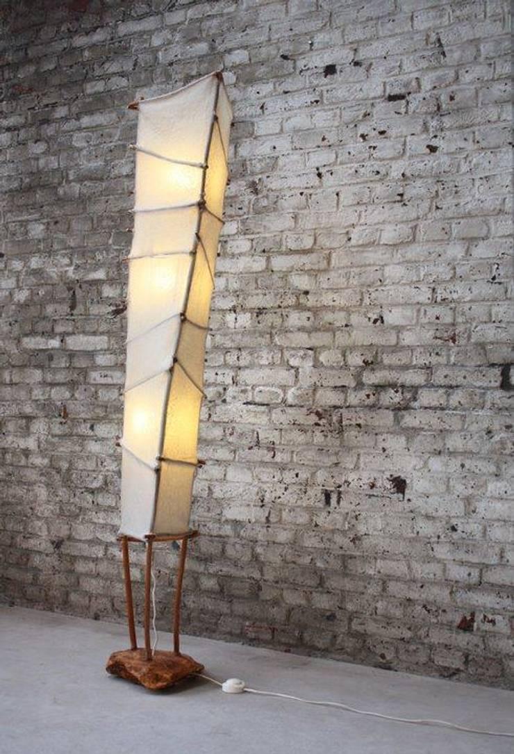 Papyrus:  Woonkamer door Elly Pingen Ecodesign