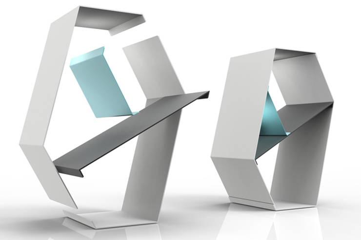 Gravity Aufbau:  Wohnzimmer von Lohr Product Design