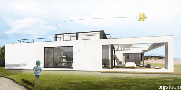 Dom Jednorodzinny DiW2012: styl , w kategorii Domy zaprojektowany przez xystudio