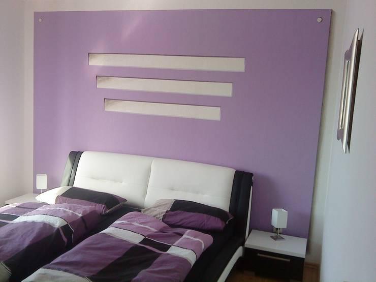 Illusionsmalerei:  Schlafzimmer von Golden Light