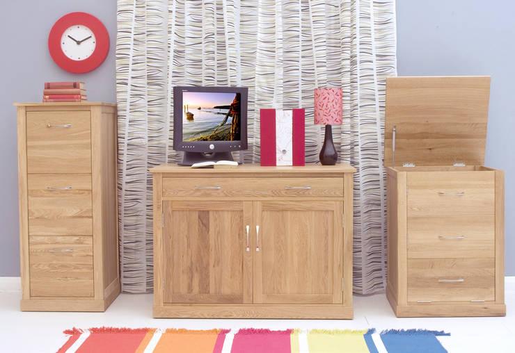 hidden oak desk office spaces stores by big blu furniture