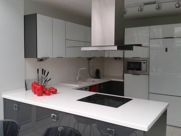 Vizyon Mimarlık ve Dekorasyon – M.L.P EVİ:  tarz Mutfak