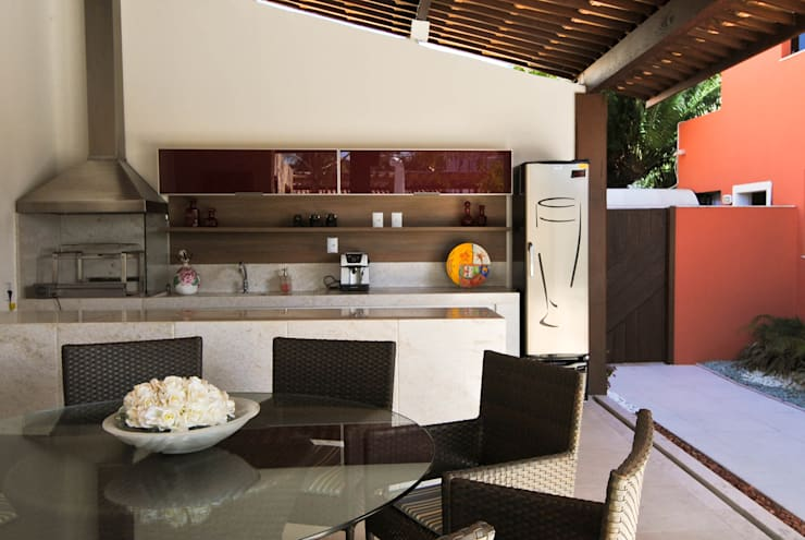 Piscinas de estilo  por Argollo & Martins | Arquitetos Associados