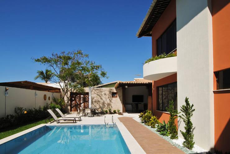 Zwembad door Argollo & Martins | Arquitetos Associados