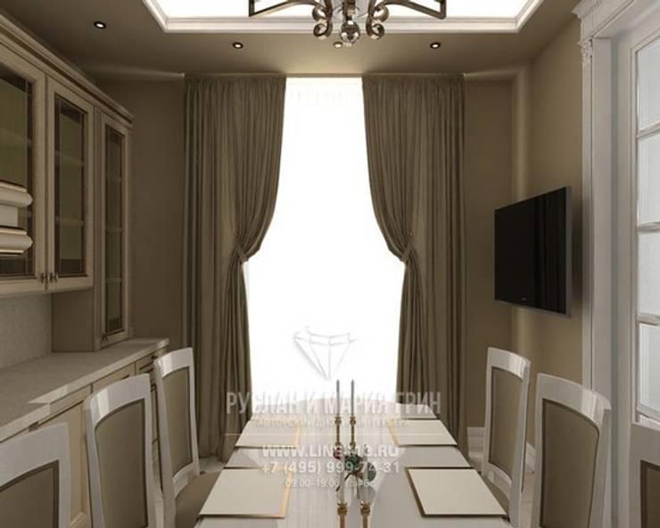 Столовая комната: Столовые комнаты в . Автор – Студия дизайна интерьера Руслана и Марии Грин