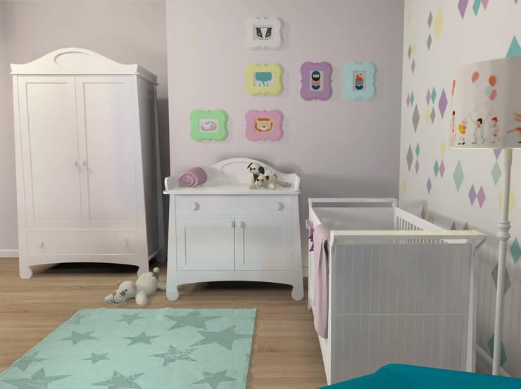 Nowoczesny pokój dziecięcy: styl , w kategorii Pokój dziecięcy zaprojektowany przez Le Pukka Concept Store