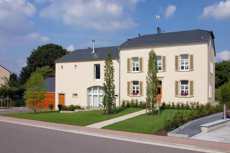 Haus M. in Greiveldange:   von morph4 architecture