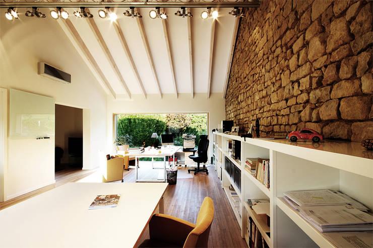 Haus M. in Greiveldange:  Arbeitszimmer von morph4 architecture