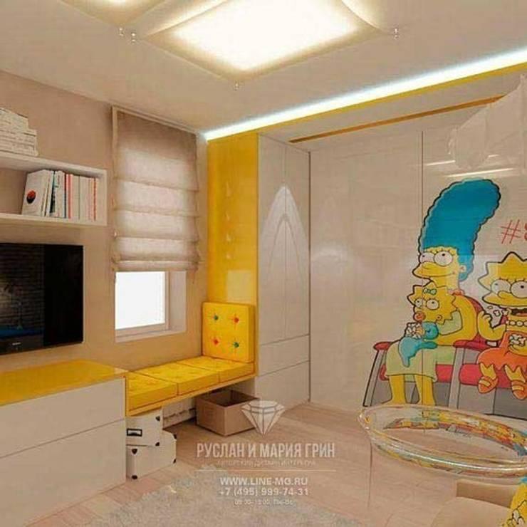 Дизайн детской: Детские комнаты в . Автор – Студия дизайна интерьера Руслана и Марии Грин,