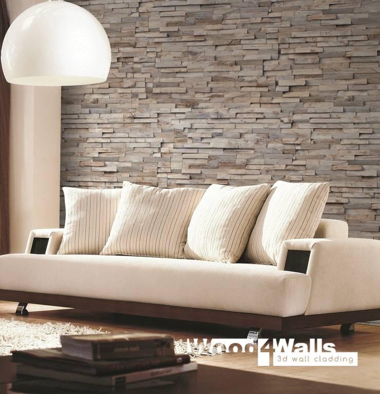 Wood4Walls | Memory Old Grey:  Muren & vloeren door Nature at home | Cocomosaic | Wood4Walls