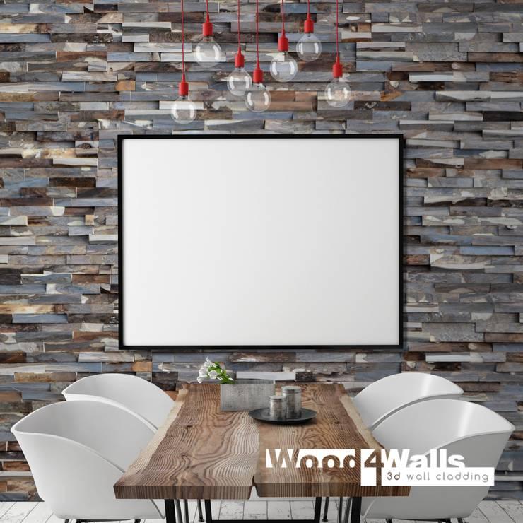 Wood4Walls | Memory Nut:  Muren & vloeren door Nature at home | Cocomosaic | Wood4Walls