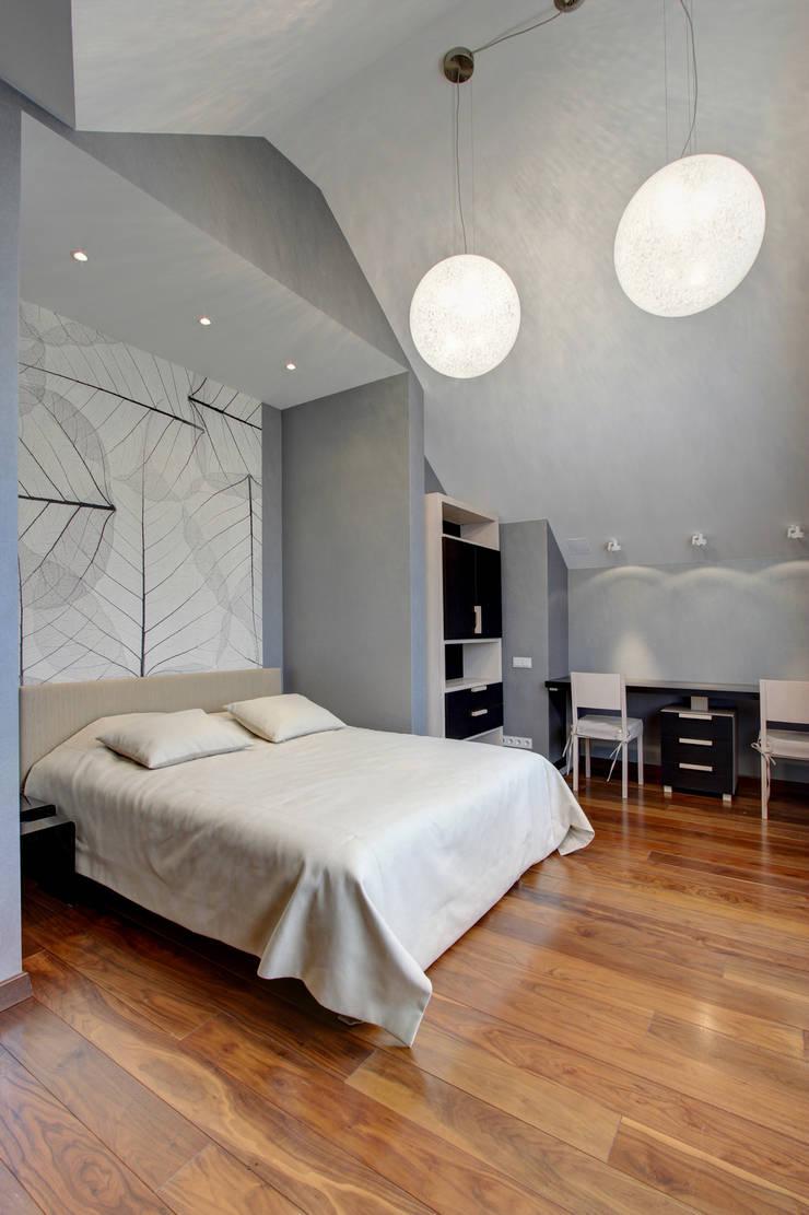 Дом в Пестово: Спальни в . Автор – Технологии дизайна