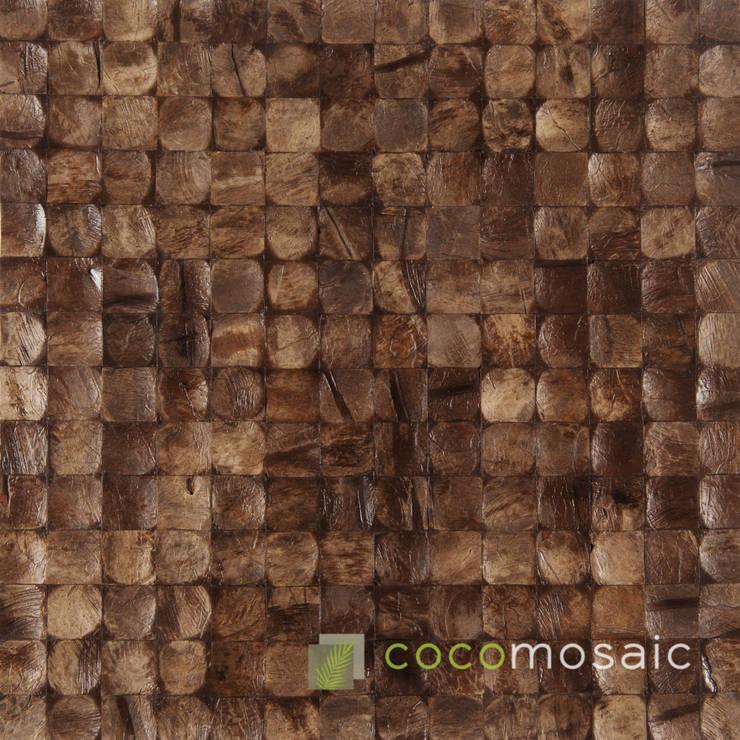 Cocomosaic | Espresso Bliss:  Muren & vloeren door Nature at home | Cocomosaic | Wood4Walls