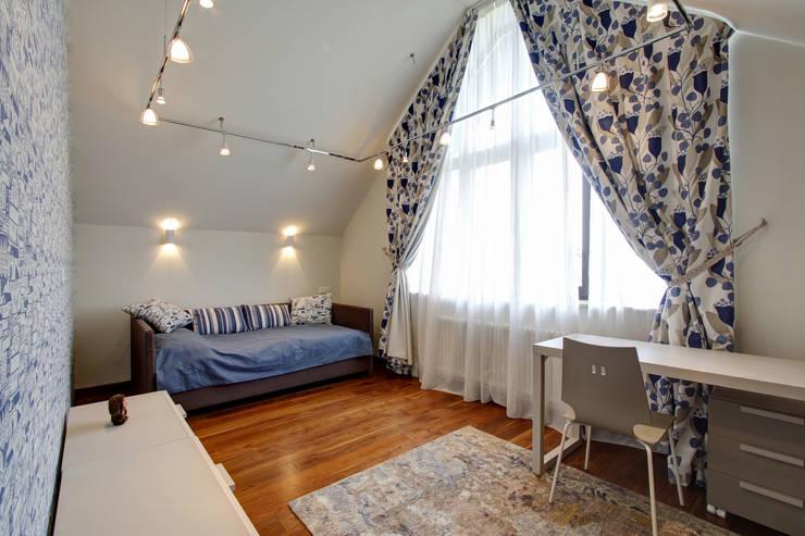 Дом в Пестово: Рабочие кабинеты в . Автор – Технологии дизайна