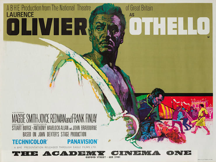 Othello 1965 British Film Poster: eclectic  by Orson & Welles, Eclectic