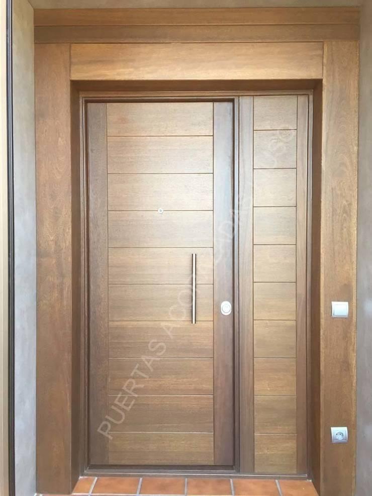 FIJO 7: Puertas y ventanas de estilo  de PUERTAS KIUSO