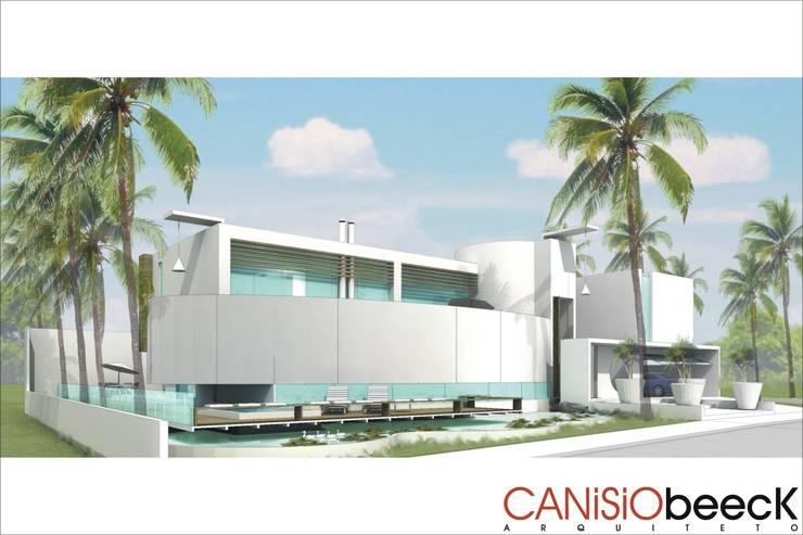 A6 Residência: Casas  por Canisio Beeck Arquiteto