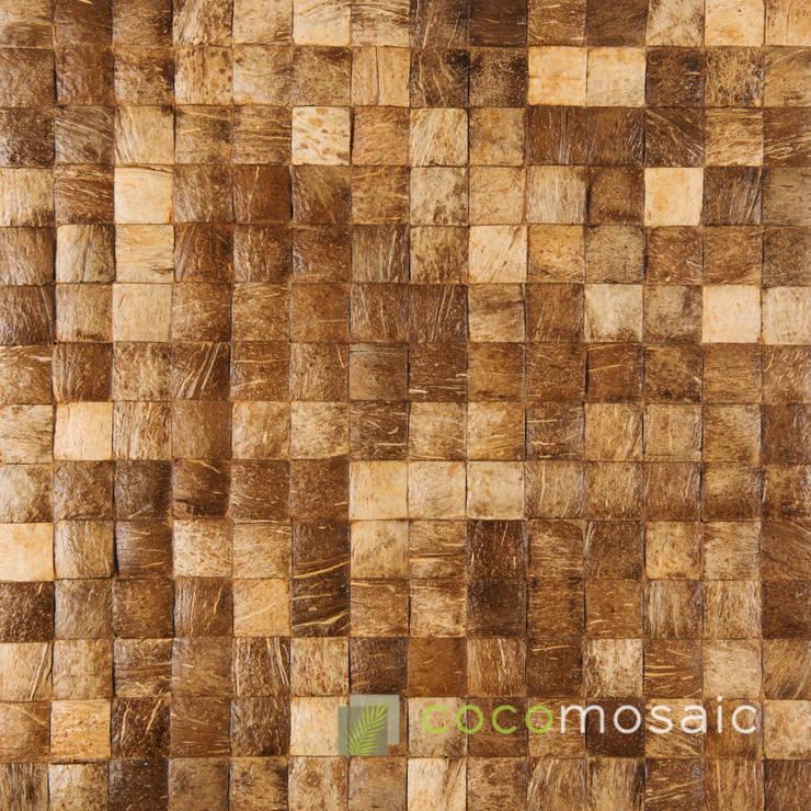 Cocomosaic | Natural Grain:  Muren & vloeren door Nature at home | Cocomosaic | Wood4Walls