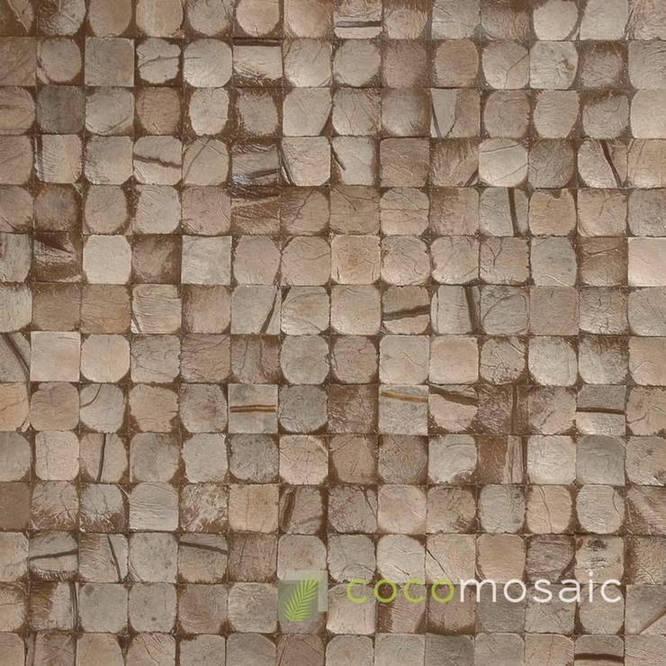 Cocomosaic | Grey Bliss:  Muren & vloeren door Nature at home | Cocomosaic | Wood4Walls