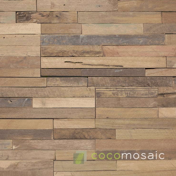 Cocomosaic | Envi Stick Old Teak: modern  door Nature at home | Cocomosaic | Wood4Walls, Modern
