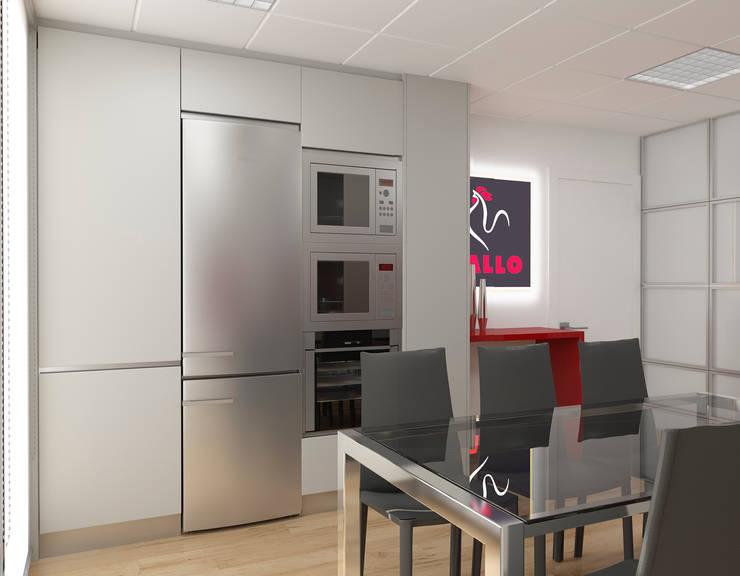Vista virtual: Oficinas y Tiendas de estilo  de Gramil Interiorismo II - Decoradores y diseñadores de interiores